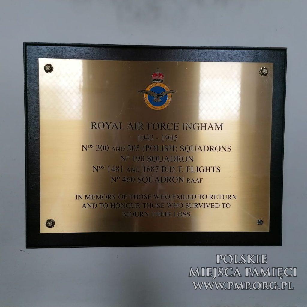 RAF INGHAM Polish AIR FORCE